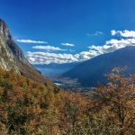 Bohinj valley from above