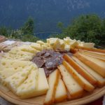 cheese and schnapps in the alps