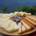 Selection of Bohinj cheese