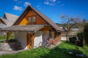 Hike&Bike chalet is the place to stay