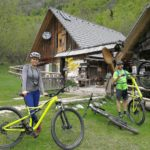 Mountain bike in Voje valley
