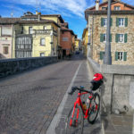 Cividale town and road bike