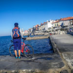 cycling in Piran