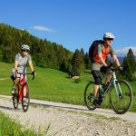 gravel biking in bohinj valley