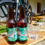 local craft beer at Hike&Bike chalet