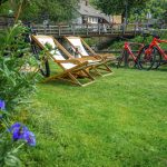 relax at Hike&Bike chalet