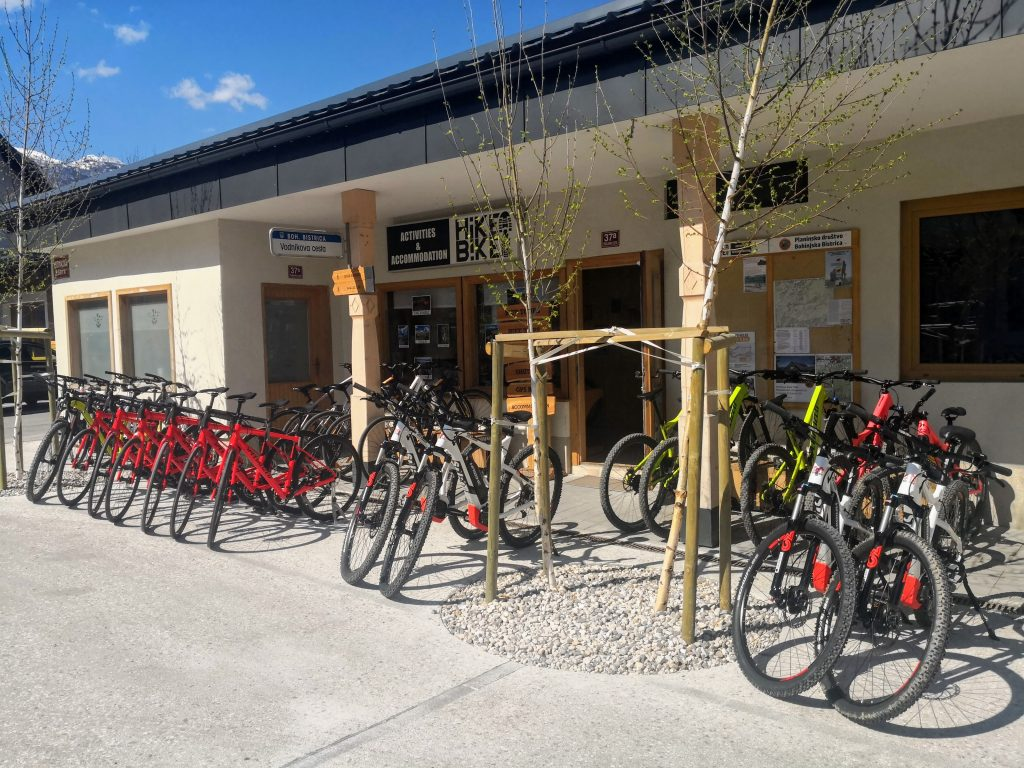 rent a bike lake bohinj