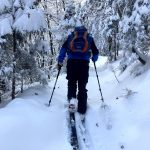 ski touring in julian alps