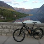 specialized enduro by the bohinj lake