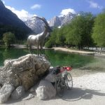 goldenhorn at lake jasna in kranjska gora