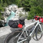 specialized gravel bike and soca river