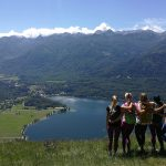 five grils above lake bohinj