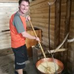 cheese making in bohinj valley