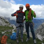 on top of the triglav climb