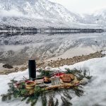 tea party by the lake